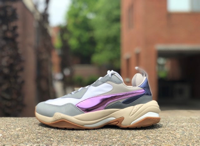 Puma Womens Thunder Electric White Pink Lavender Cement 367998-01