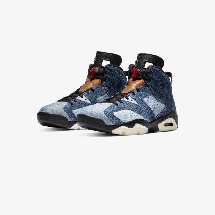 Air Jordan 6 Retro (GS) Washed Denim CV5489-401