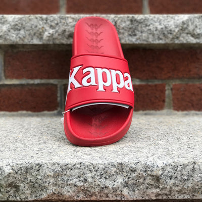 Kappa 222 Banda Adam 9 Slides red white 304JPU0-908