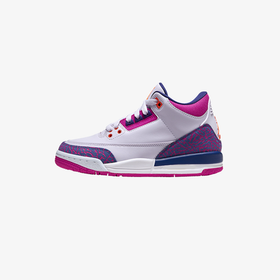 Air Jordan 3 Retro PS Barely Grape hyper crimson 441141-500