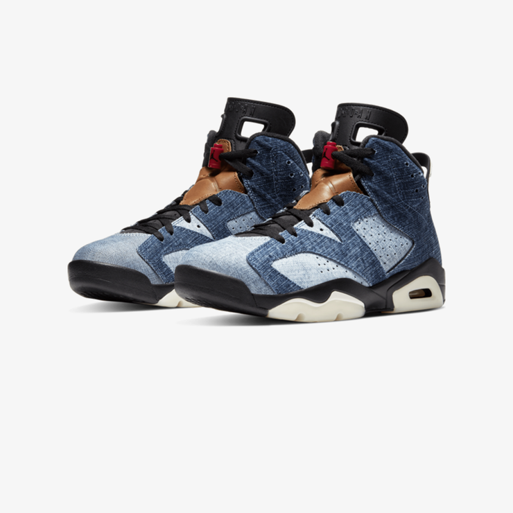 Air Jordan 6 Retro Washed Denim CT5350-401