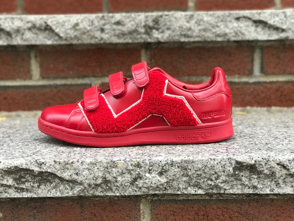 Adidas X Raf Simons RS stan smith comfort BADG red BB6887