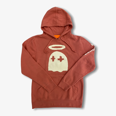 "B Wood GLOW Ghost ""Clay Court"" Hoodie"