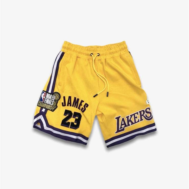 Pro Standard LA Lakers Lebron Shorts Yellow