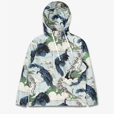 The Hundreds Encounter Anorak Jacket Light Blue