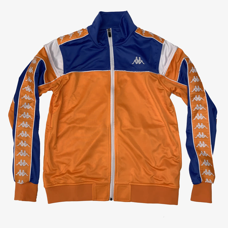 Kappa 222 Banda Merez Slim Track Top orange blue royal white 303LP60-A1D
