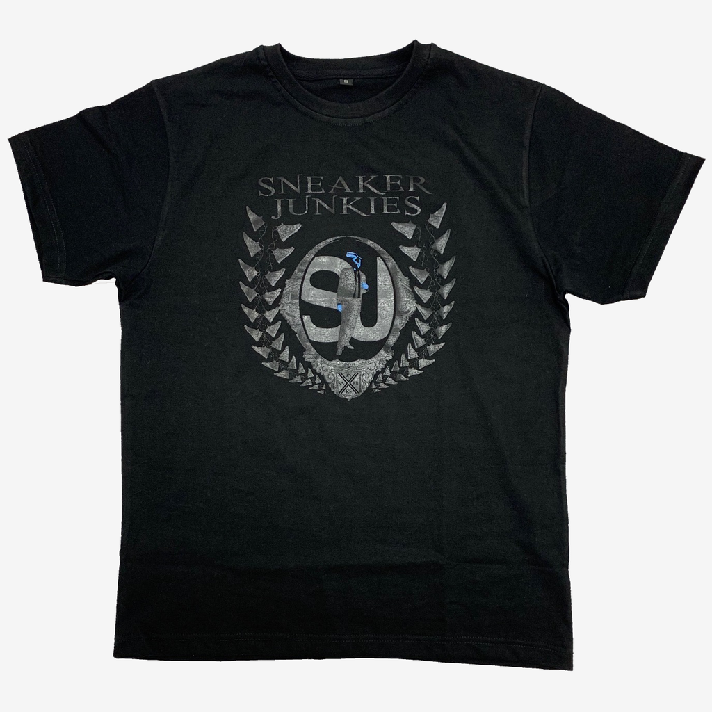 Sneaker Junkies Logo T-shirt Black