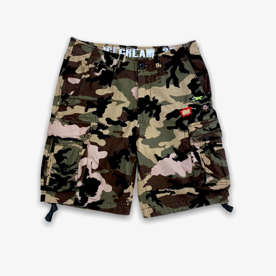 Ice Cream Rich Shorts Camo
