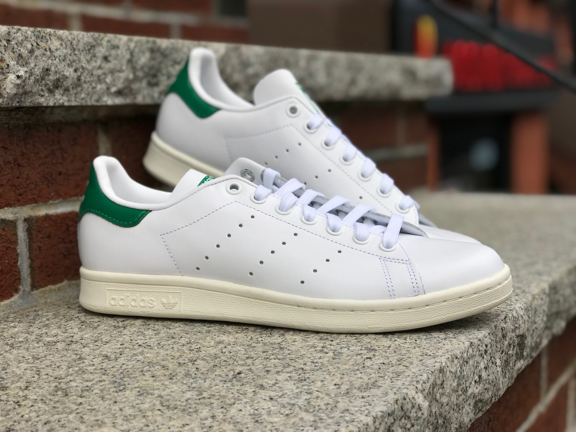 Adidas Stan Smith White Off White Green BD7432