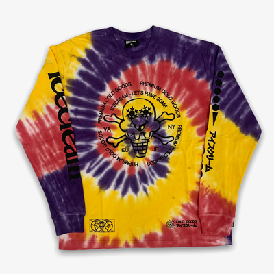 Ice Cream Cold Goods LS Knit Tie Dye
