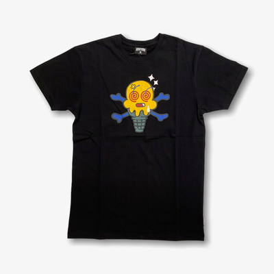 Ice Cream Wasted SS Tee Black