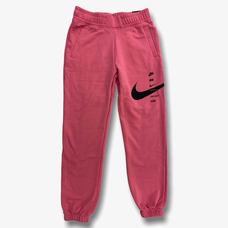 Women's Nike Swoosh Fleece Pants Pink CU5631-607