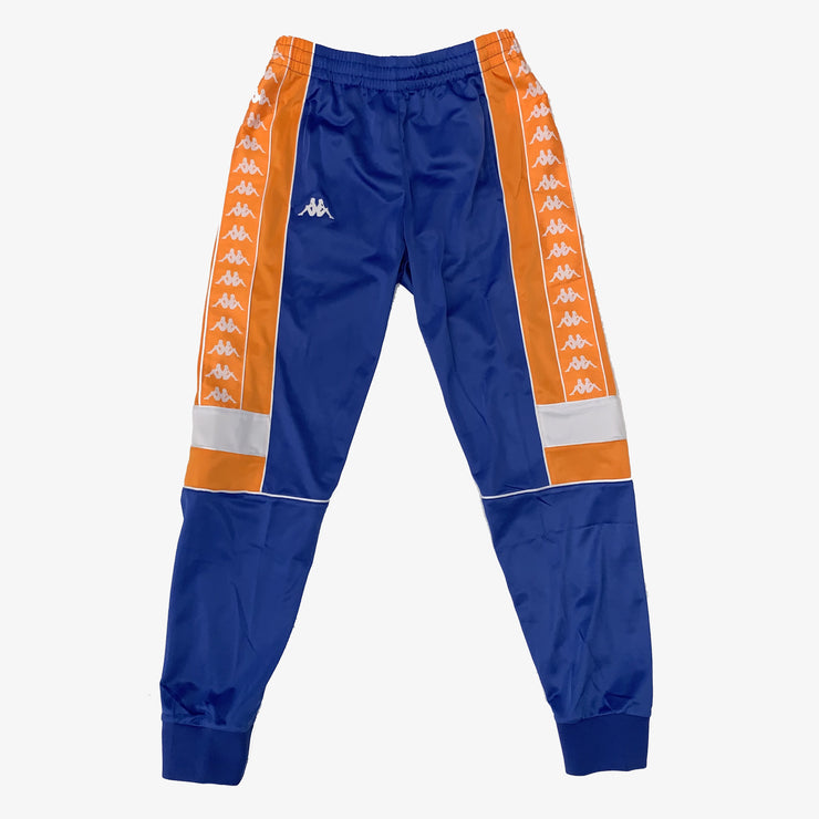 Kappa 222 Banda Merez Slim trackpants orange blue  royal white 304KQX0-A6E