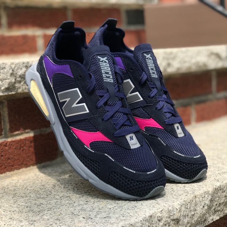 New Balance MS X-Racer RCTLD Navy Pink Purple