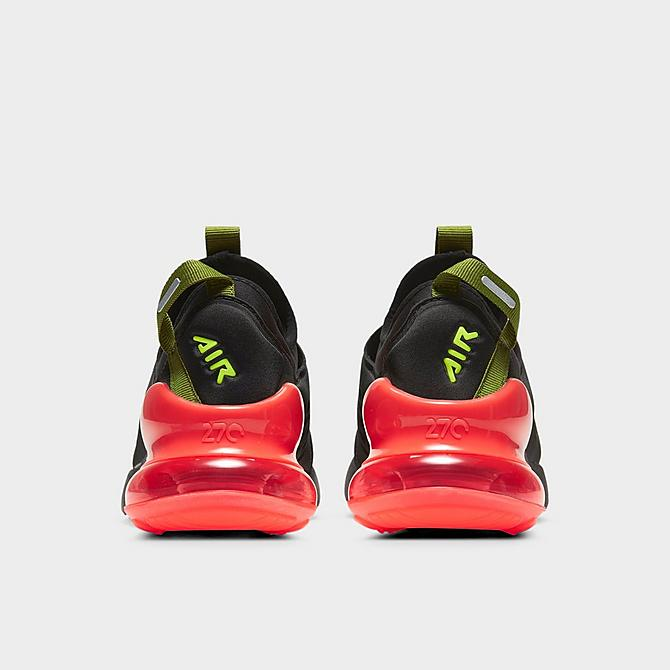 Nike Air Max 270 Extreme Black Metallic Silver Grade School DH1019-001