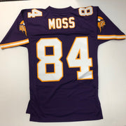 Mitchell & Ness NFL Legacy Vikings Jersey 98 Randy Moss purple