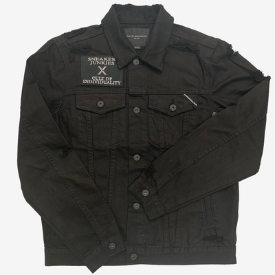 Cult of Individuality X Sneaker Junkies Type 2 Jacket Black