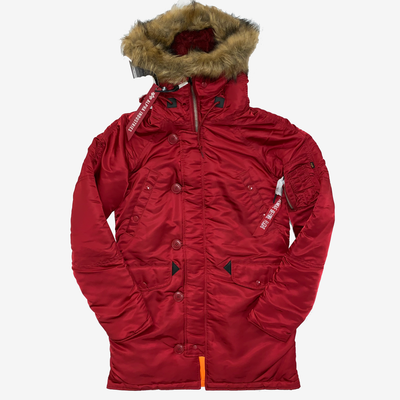 Alpha Industries Womens N-3B Commander Red