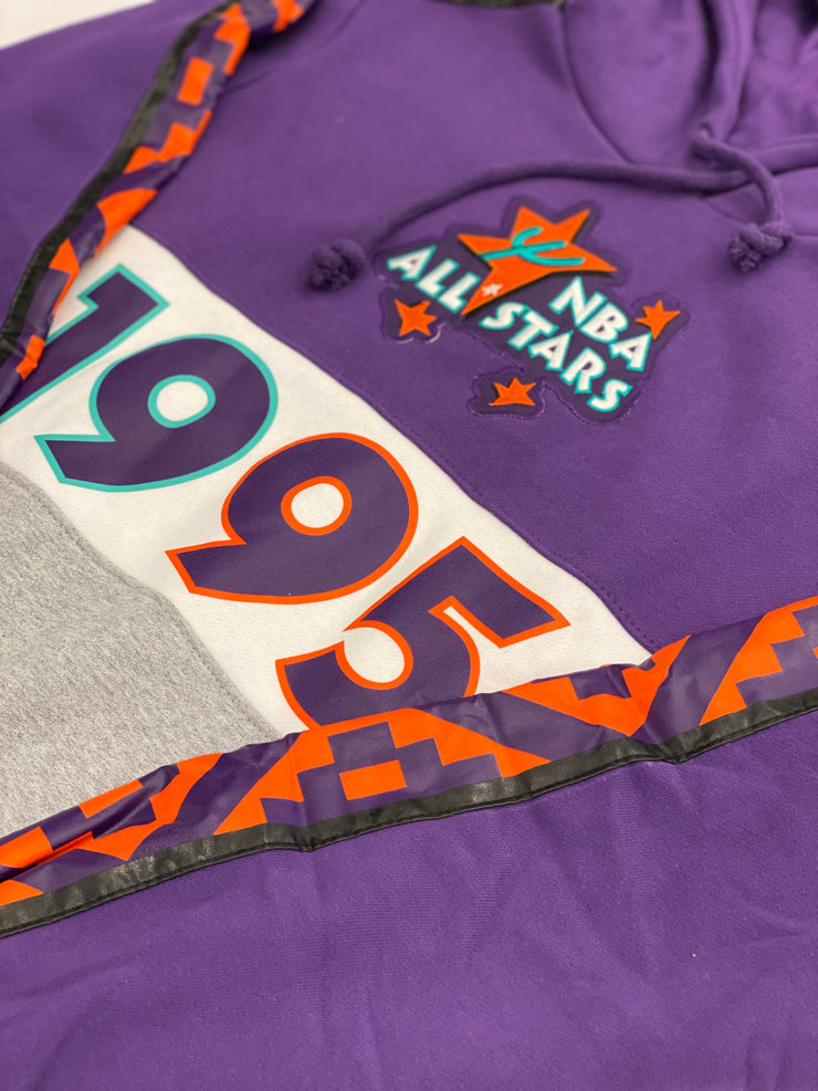 Mitchell & Ness Leading Scorer Fleece Hoodie 95 All Star Purple
