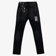PRPS Paint Splatter Denim Jeans Black