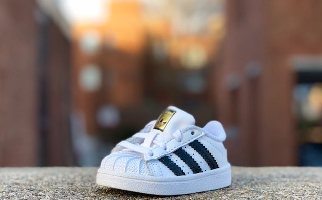 Adidas Superstar Infants White Black BB9076