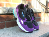 Adidas Womens Falcon W Black white purple CG6216