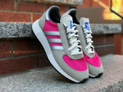 Adidas Marathon Tech Grey Silver Metallic Real Magenta G27417