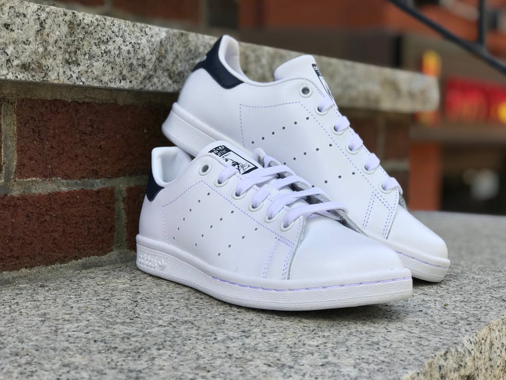 Adidas Womens Stan Smith White Core Navy S81020