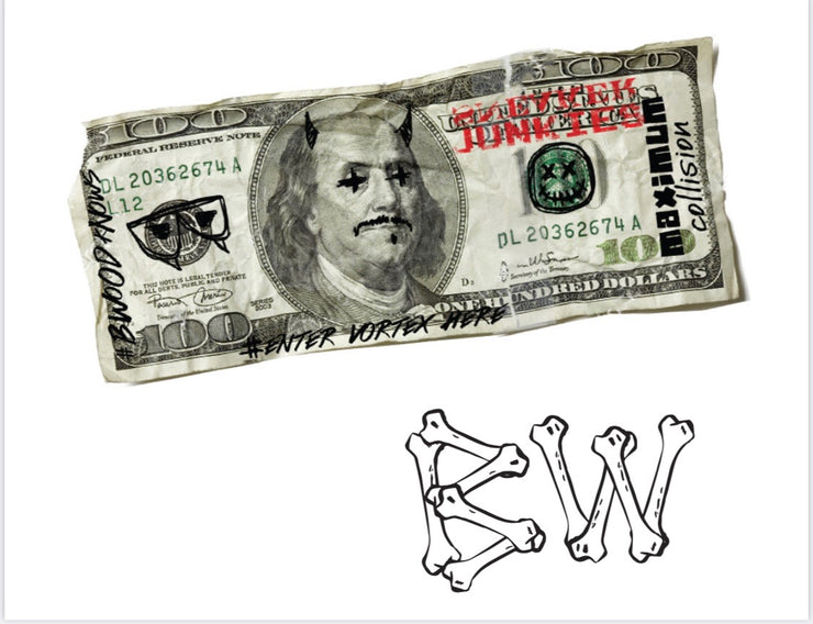B Wood X Sneaker Junkies In SJ We Trust Crew Turbo Green