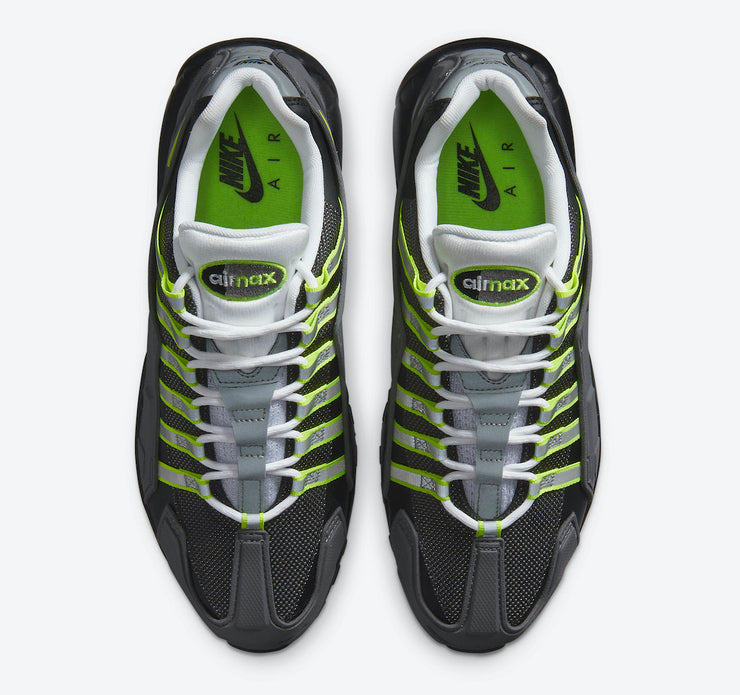 Nike NDSTRKT Air Max 95 Black Neon Yellow Medium Grey CZ3591-002