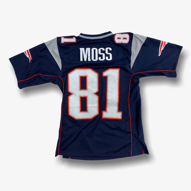 Mitchell & Ness NFL Legacy Jersey New England Patriots Randy Moss Blue