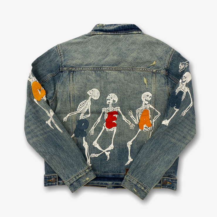 Ice Cream Denim Jacket Medium Blue Wash