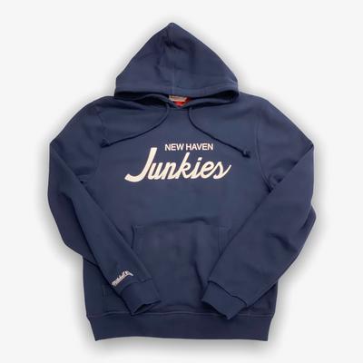 Mitchell & Ness X Sneaker Junkies New Haven Junkies hoodie Navy