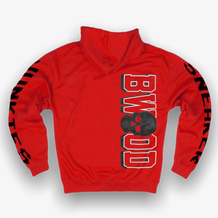 B Wood X Sneaker Junkies Reservoir Dogs hoodie Red