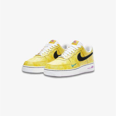 Nike Air Force 1 '07 LV8 3 Speed Yellow Black Laser Blue DC1416-700