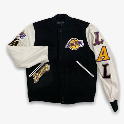 Pro Standard Lakers Varsity Black white
