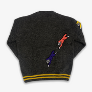 Ice Cream Slick Sweater Dark Heather Grey