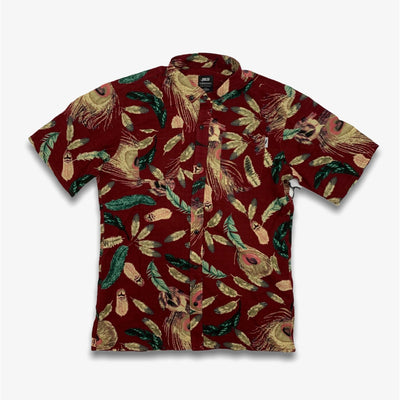 Publish Tad Button Up Maroon