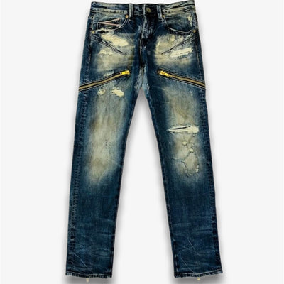 Cult Greaser Moto Denim