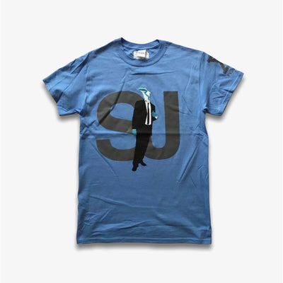 Sneaker Junkies 10 Year Sneaker Head Tee Blue T-Shirt