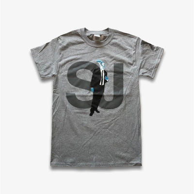 Sneaker Junkies 10 Year Sneaker Head Tee Grey T-Shirt