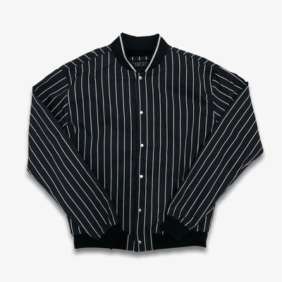 Zanerobe Stripe Varsity Jacket Ink Shell