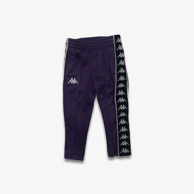 Kappa 222 BANDA ASTORIA SLIM Track Pants Youth Sizes Violet Black White