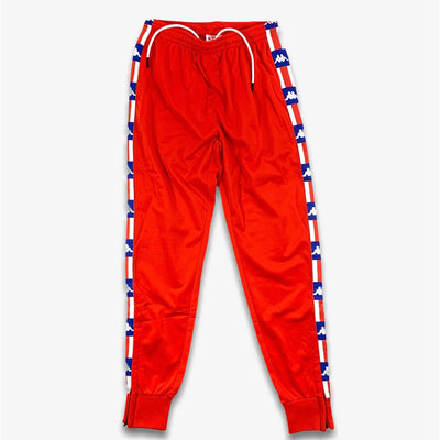 Kappa Authentic La Bergar Pants Red White Blue