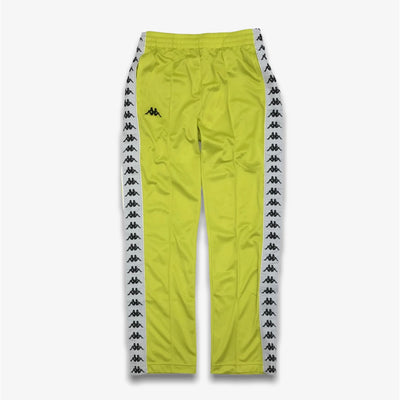 Kappa 222 BANDA ASTORIAZZ Track Pants Green Lime White