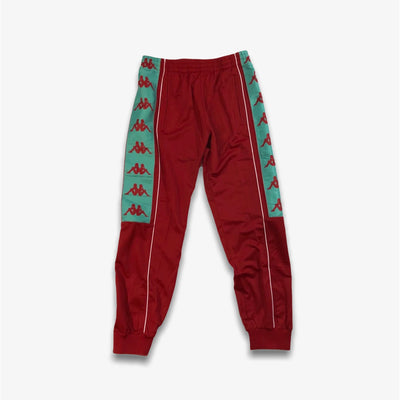 Kappa 222 Banda 10 Alien Red Chilli Teel Trackpants Joggers