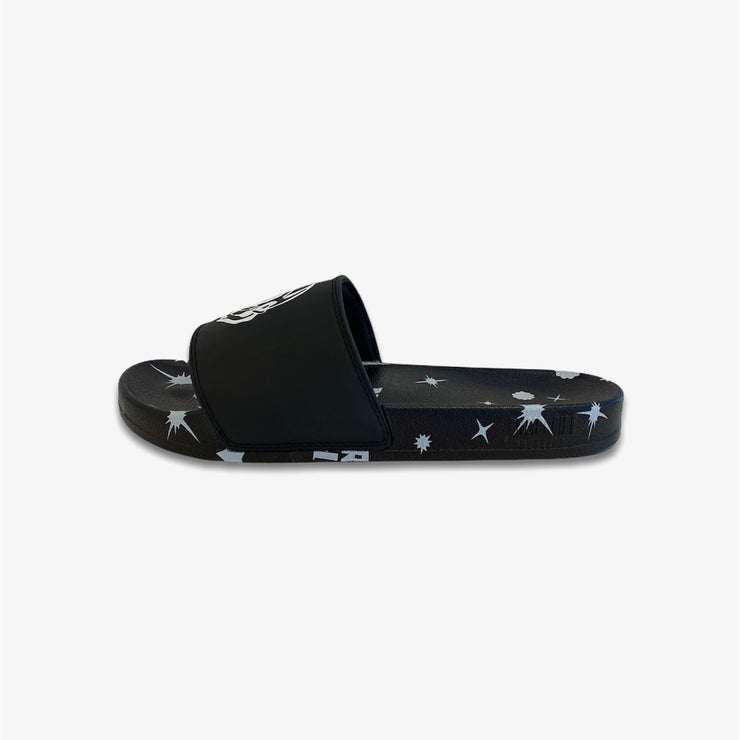 BBC BB Moon Walk Slides Black