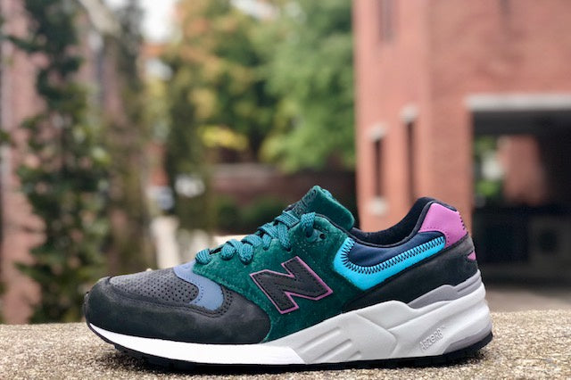 New Balance M999JTB Black Green Blue Purple