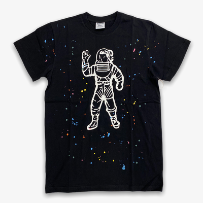 BBC BB Astro Spattered SS T-shirt Knit Black