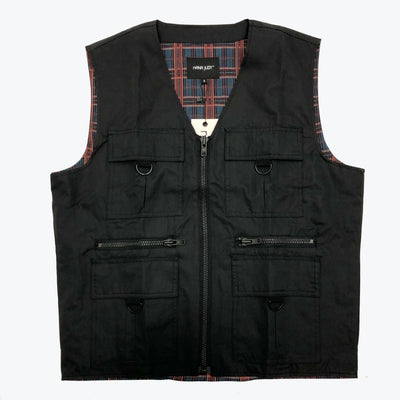 Nana Judy Oak vest Black